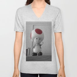 Vote Toad Unisex V-Neck