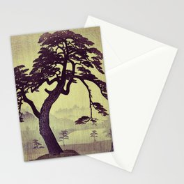 Old Man Standing Stationery Cards