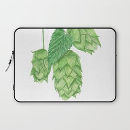Beer Hop Flowers Laptop Sleeve