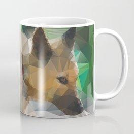 May: Low Poly Good Girl Coffee Mug
