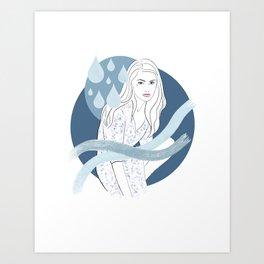Water Baby Art Print