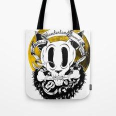 Dog skull Tote Bag