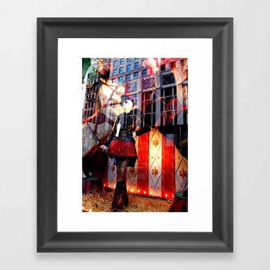 Ladies 4 Framed Art Print