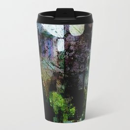 In the Castle Courtyard Travel Mug