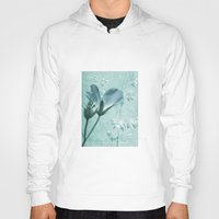 bill Hoodies featuring crane's bill  by PaulaPanther