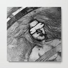 Ghetto Blast Off Metal Print