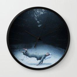 An Underwater Spell Wall Clock