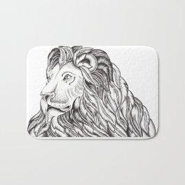 Feather Lion Bath Mat