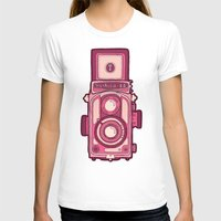 vintage camera T-shirts featuring Vintage Camera by evannave