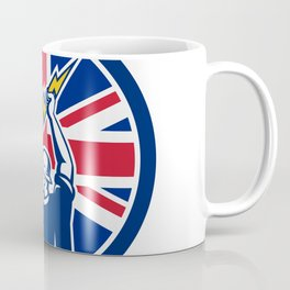 British Electrician Union Jack Flag icon Coffee Mug