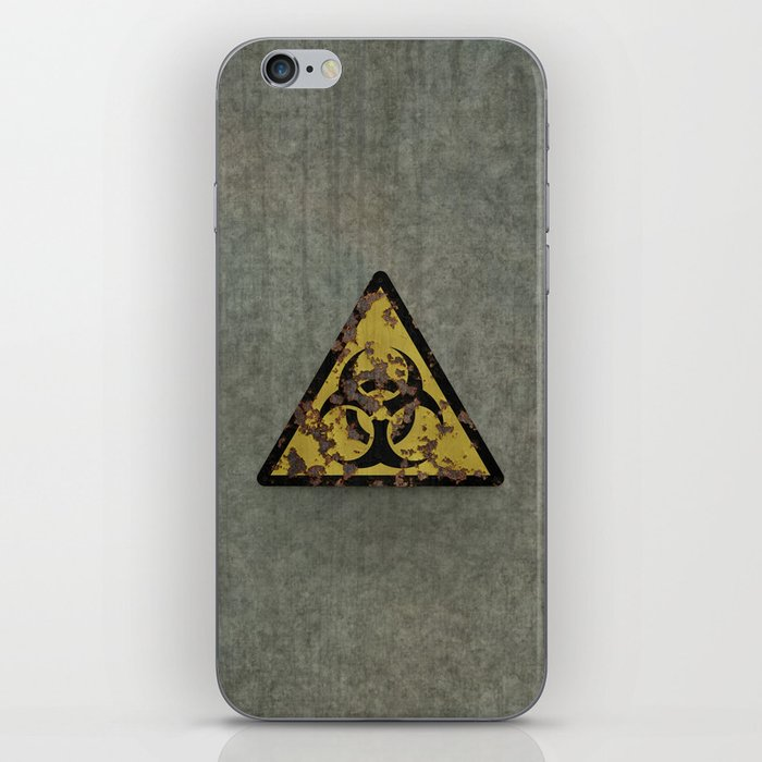 Biohazard iPhone Skin