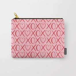 Hearts and Kisses Carry-All Pouch