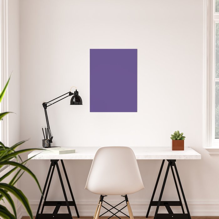 PANTONE 18-3838 Ultra Violet Poster