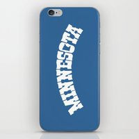 minnesota iPhone & iPod Skins featuring Minnesota Arch by Jeremy Jon Myers
