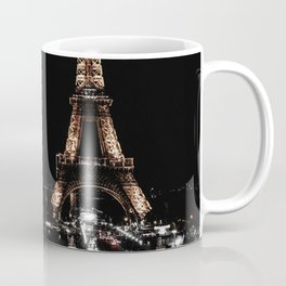 Gold Eiffel Tower Coffee Mug