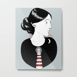 To the Lighthouse - Virginia Woolf Metal Print