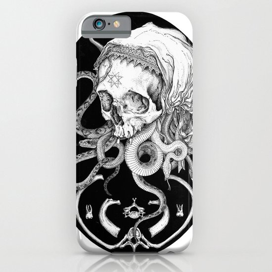 Witch Skull iPhone & iPod Case
