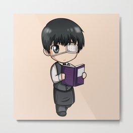 Kaneki Read the Book - Tokyo Ghoul Metal Print