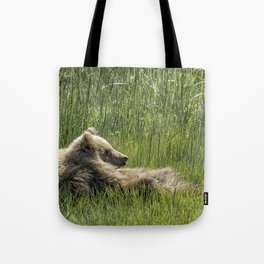Drifting Off - Bear Cubs, No. 7 Tote Bag