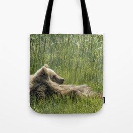 Drifting Off - Bear Cubs, No. 7 Tote Bag