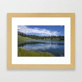 Trout Lake Framed Art Print