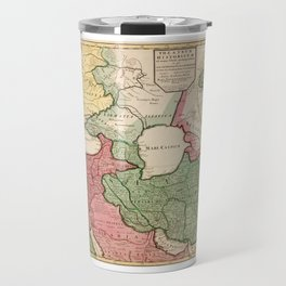 Map of the Middle East (1712) Travel Mug