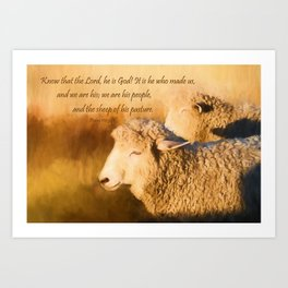 We are His Art Print