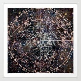 Celestial Charts II Art Print