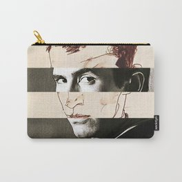 Egon Schiele's Self Portrait & Anthony Perkins Carry-All Pouch