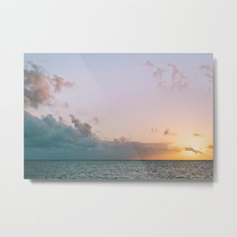 Lanikai sunrise Metal Print