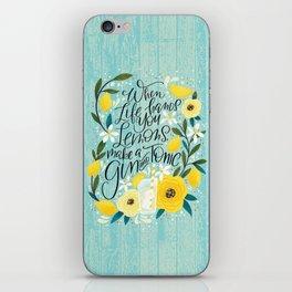 When Life Hands You Lemons... iPhone Skin