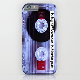 Iphone Mixtape Cassette iPhone Case
