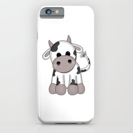 Cuddly Cow iPhone Case