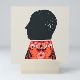 Shadow Box Portrait Mini Art Print