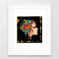 glitch Framed Art Prints featuring Glitch by Steve W Schwartz Art