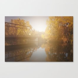 Sunshiny Autumn day Canvas Print