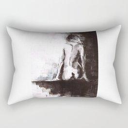 Woman nude Rectangular Pillow