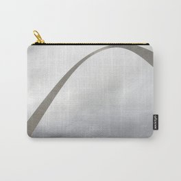 Gateway Arch and people Carry-All Pouch