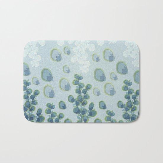 Painted floral Pattern 01 Bath Mat