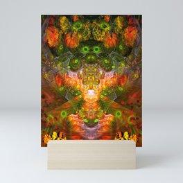 Scarecrow Harvest Explosion Mini Art Print