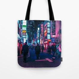 Take A Walk Under The Neon Tote Bag