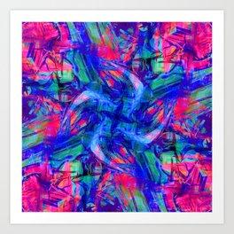 psychosis cyclone Art Print