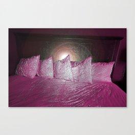 Pillows Series No.2 (Purple/Pink) Canvas Print