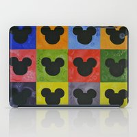 mickey iPad Cases featuring Mickey by Sierra Christy Art