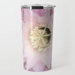 Pink Bloomin Cactus Travel Mug