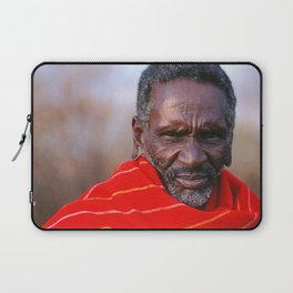 African Maasai Elder Laptop Sleeve