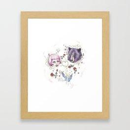 The Stars Fell Into My Hands Framed Art Print
