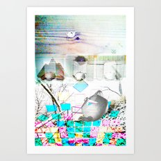 Xekdjeuqs Art Print
