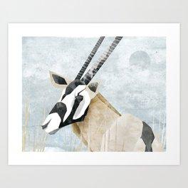 Gemsbok Art Print