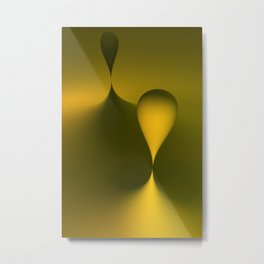 the color yellow Metal Print